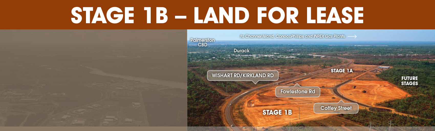 Stage 1B – Commercial Land For Lease