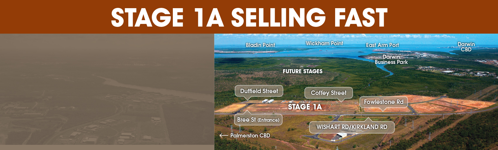 Stage 1A Selling Fast